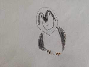Ein Pingiun ohne Namen? Und das in der Pinguinklasse...
