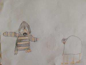 Ein Pinguin mit Streifen und ein Tiger ohne Streifen? Kann das sein?...